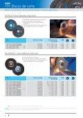 Catálogo 206 - Discos de corte, desbaste e POLIFAN - PFERD - Page 4