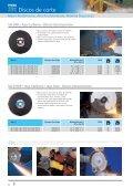Catálogo 206 - Discos de corte, desbaste e POLIFAN - PFERD - Page 6