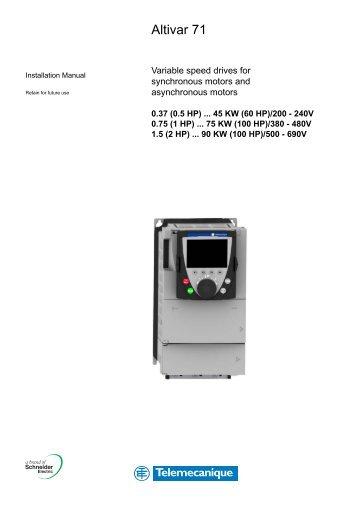 altivar 21 programming manual schneider electric rh yumpu com