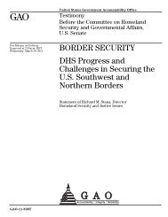GAO-11-508T Border Security - US Government Accountability Office