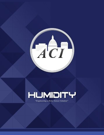 Humidity - Automation Components, Inc.