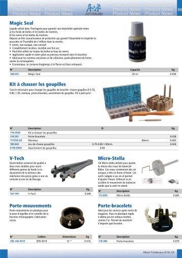 Magic Seal Kit à chasser les goupilles V-Tech Micro ... - a*f switzerland