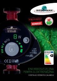Energooszczędna pompa elektroniczna do instalacji ... - Ferro