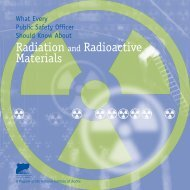 Radiation and Radioactive Materials