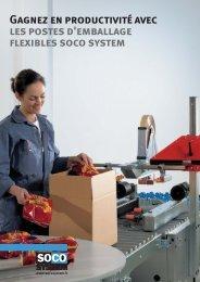 Gagnez en productivité avec les postes d'emballage ... - Soco System