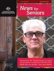 News for Seniors issue 89 - Department of Human Services