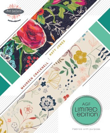 AGF Limited Edition Collections for Fall 2014 Catalog