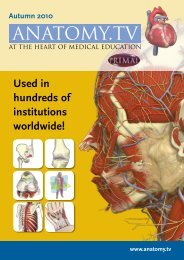 3D anatomy online at anatomy.tv. The ultimate ... - Primal Pictures