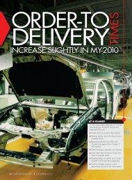 increase slightly in my-2010 - Automotive Fleet