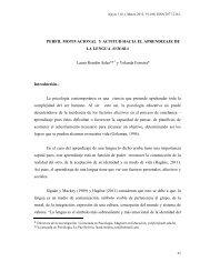 perfil motivacional y actitud hacia el aprendizaje de la lengua aymara