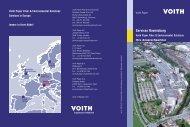 Services Ravensburg - Voith