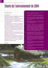 Charte de l'environnement - Administration éco-responsable