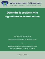 Défendre la Société Civile.pdf - Action for Democracy in Vietnam