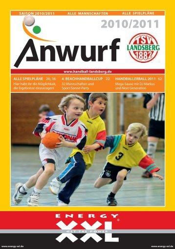 Über 120 versch. Spirituosen »Über 21 ... - TSV Landsberg - Handball