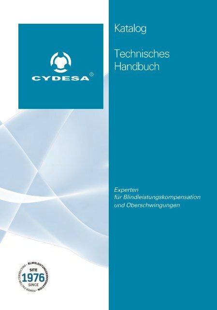 Produktkatalog 2013 und technisches Handbuch - Cydesa