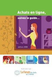 Guide - Forum des droits sur l'internet