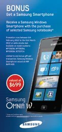 Get a Samsung Smartphone