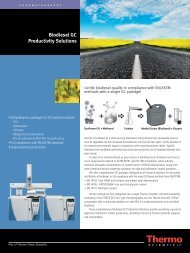 Biodiesel GC Productivity Solutions