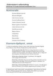 Se bifogad lista här (PDF) - Socialdemokraterna
