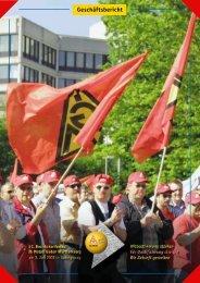 Geschäftsbericht zur 52. Bezirkskonferenz 2001 - IG Metall Baden ...