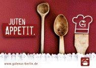 Appetit. - Galenus Apotheke