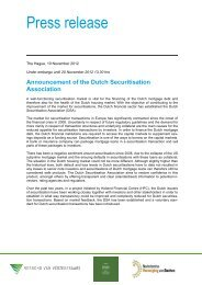 Press release - Holland Financial Centre