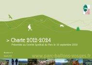 Projet de charte definitif HD sept.pdf - Parc naturel régional des ...