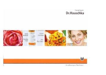 Cosmétiques Dr. Hauschka - Gate24.ch