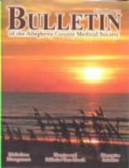 November 2010 Bulletin - Allegheny County Medical Society