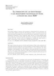 LA FORMACIÓN DE LAS IDENTIDADES Y LOS IMAGINARIOS ...