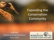Expanding the Conservation Community