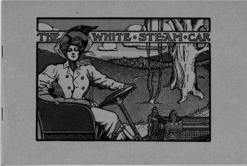 1908 White Models K-L - White Steam Car Registry
