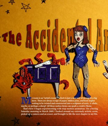 The Accidental Animator - Johns Hopkins Center for Talented Youth