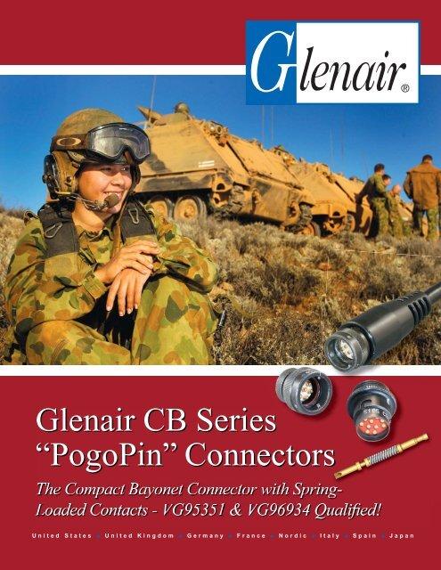 "Glenair CB Series ""PogoPin"" Connectors - Glenair, Inc."