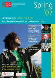 15289 NLW_Events Spring07_NEW PDF FILE.qxp - Llyfrgell ...