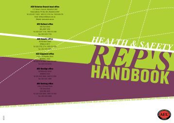 HSR handbook download here - Australian Education Union ...