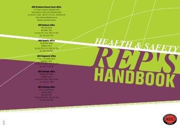 HSR handbook download here - Australian Education Union ...