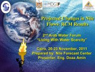 The Nile Basin Case Study - Arab Water Council