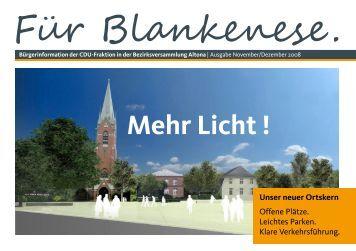 Bürgerinformation Für Blankenese Ausgabe November/Dezember ...