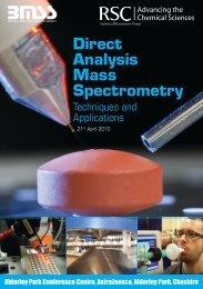 Direct Analysis Mass Spectrometry