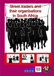 Street Vendors & their Organizations in South Africa - Inclusive Cities