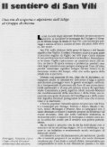 Il sentiero di San Vili - Campigliodolomiti.it - Page 7