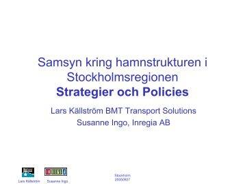 Strategier och Policies
