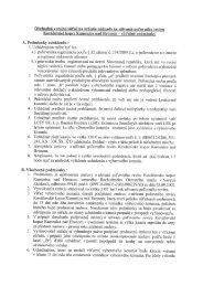 Súťažné podmienky - Lesy SR š.p.