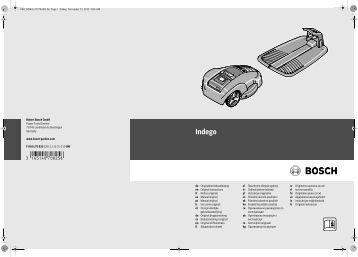 Indego - Bosch Elektrowerkzeuge für Heimwerker