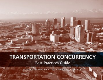 Transportation Concurrency Best Practices Guide.pdf - Center for ...