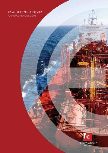 CAMILLO EITZEN & CO ASA ANNUAL REPORT 2008