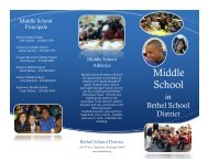 Middle School - Bethel School District