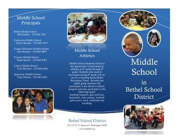 Middle School - Bethel School District