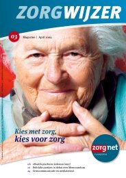 kies voor zorg - Zorgnet Vlaanderen